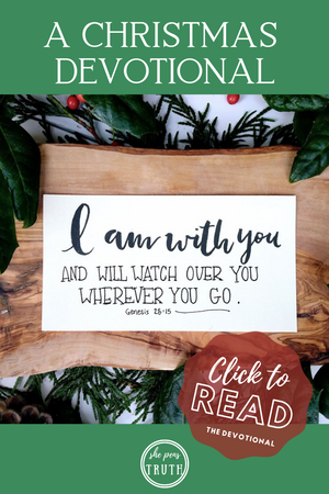 Emmanuel: A Christmas Devotional, Day 3, God with Jacob