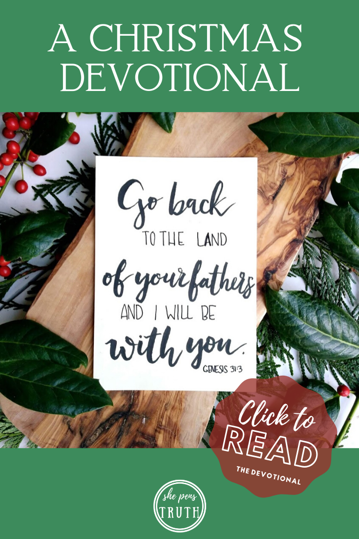 Emmanuel: A Christmas Devotional, Day 4, God with Jacob Again