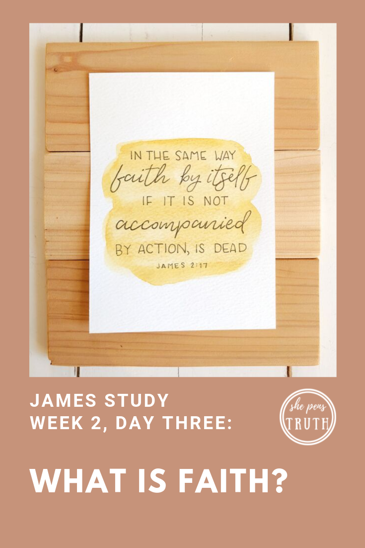 What is Faith? James 2:14-17