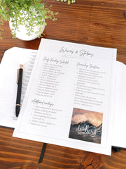 Free Waves and Storms Bible Reading Plan, She Pens Truth