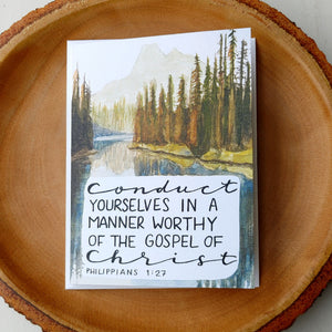 Cards, Philippians Note Cards, Set of 6