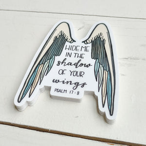 Sticker, Shadow of your wings, Psalm 17:8