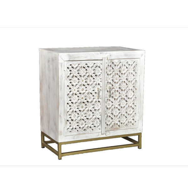 Credenza Carving White