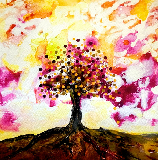 """Vibrancy"" Tree Fine Art Print"