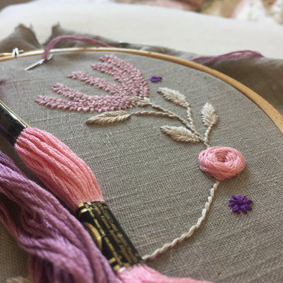 Slowing down the stitches...