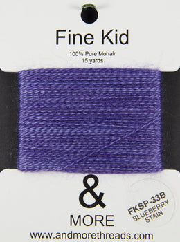 Fine Kid Baby Mohair Thread (33 - 65)