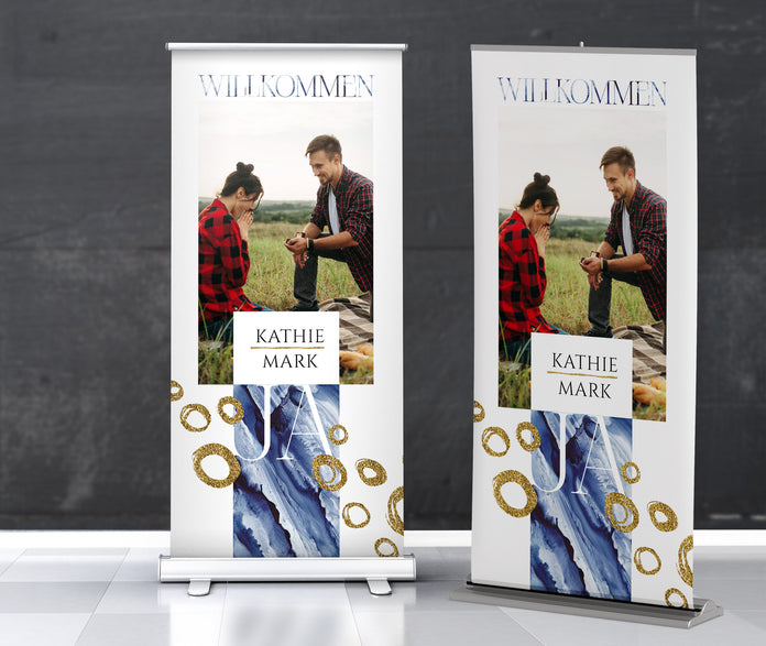Modische Roll-Up-Banner
