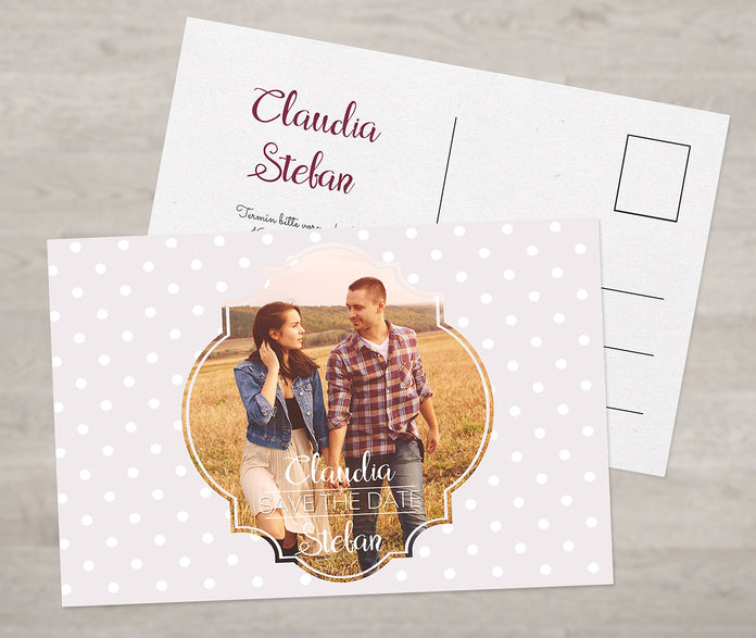 Save-The-Date Retro