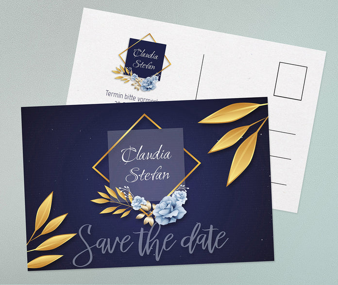 Save-The-Date Karte Chance