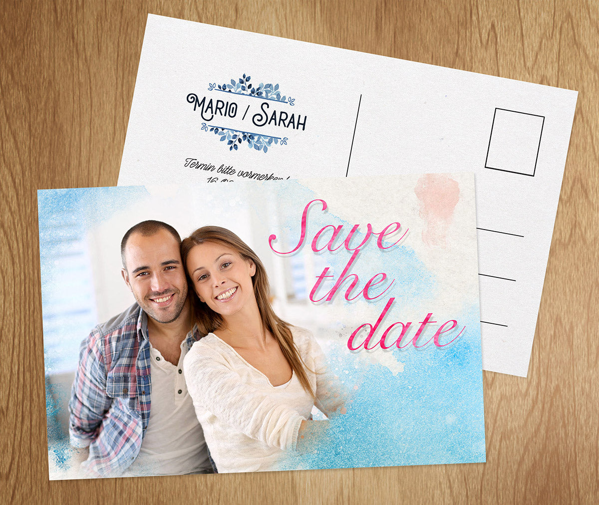 Save-The-Date Karte Ozean