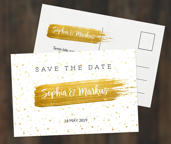 Sommer Save-The-Date Karte