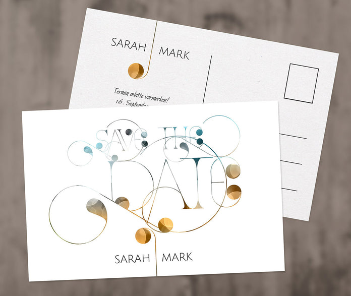 Tipo Save-The-Date Karte