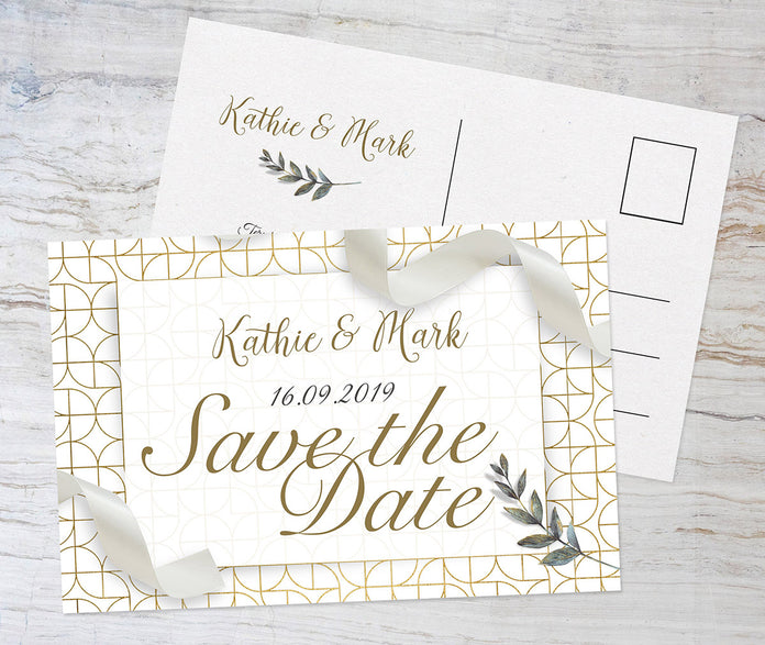 Design Save-The-Date Karte
