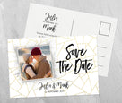 Zeitlose Save-The-Date Karte