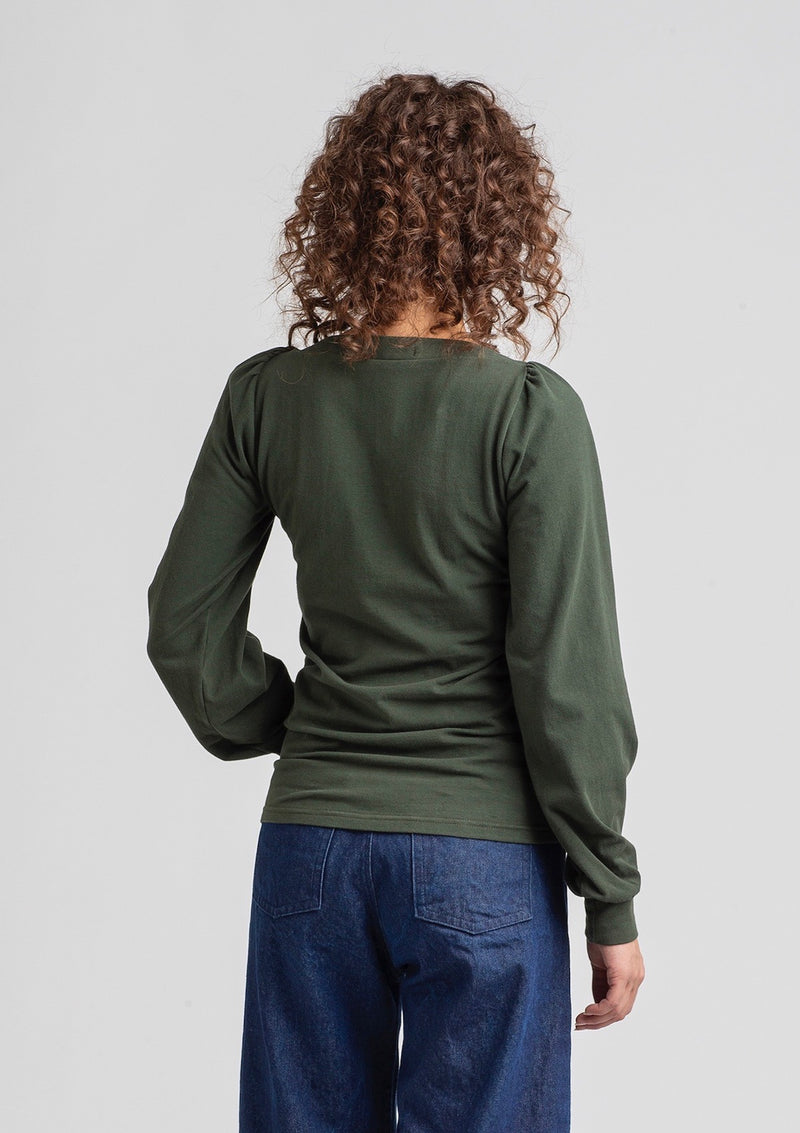 Folded Top Long Sleeve