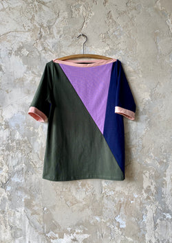 48/100 Triangle Top Color Block, Extra Large