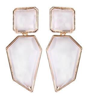 Amaya Lucite Statement Earring