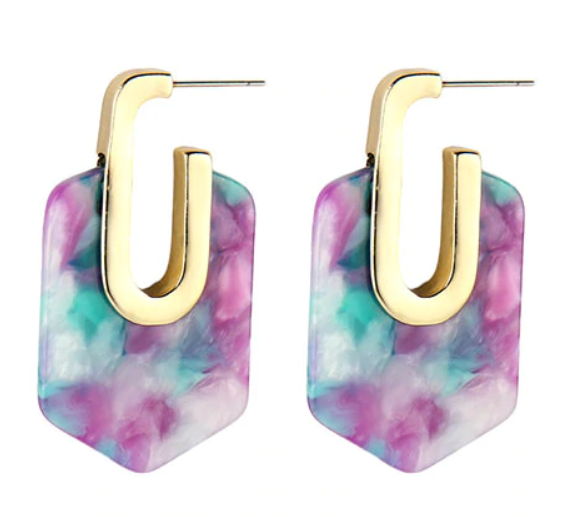 Anahi Resin Earring