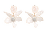 Avery Flower Resin Statement Earring