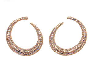 Bailey Crescent Statement Earring