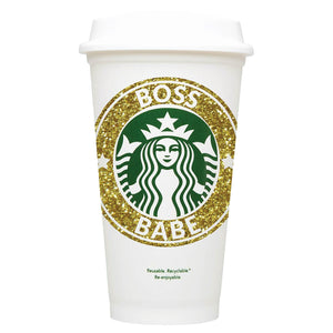 Boss Babe Starbucks Hot Cup