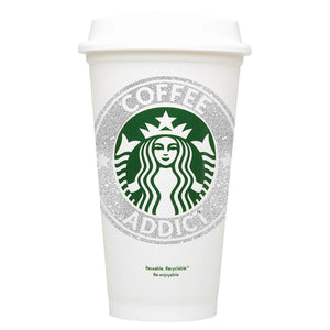 Coffee Addict Starbucks Hot Cup