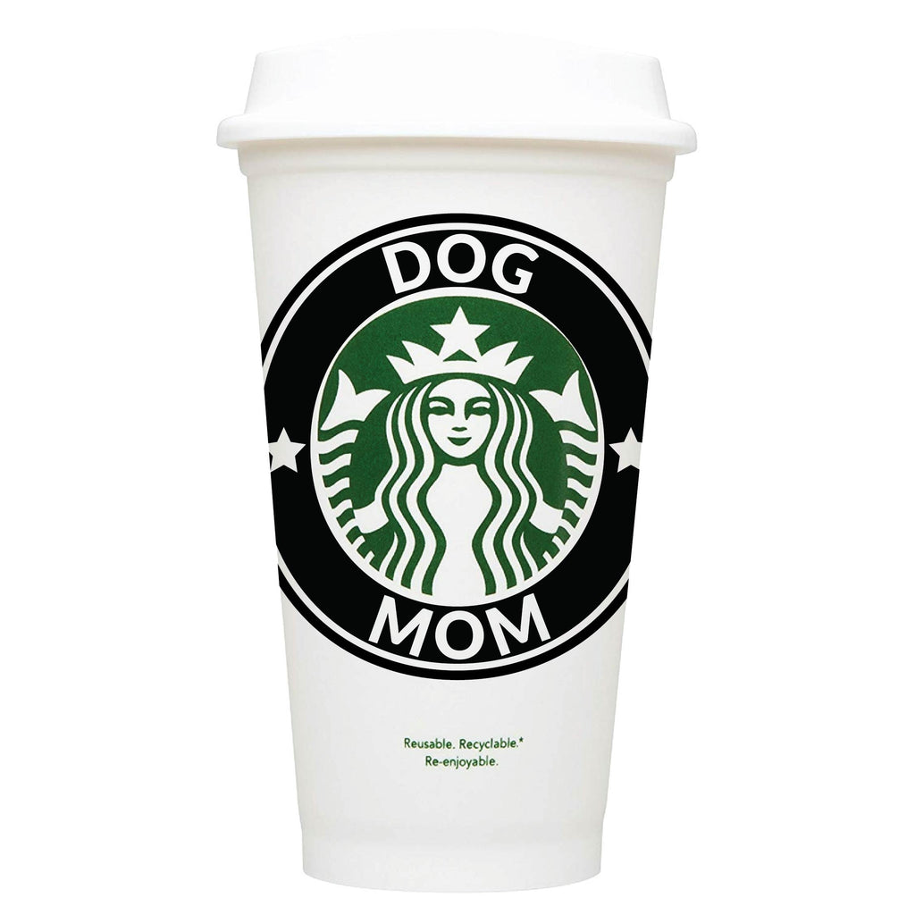 Dog Mom Starbucks Hot Cup