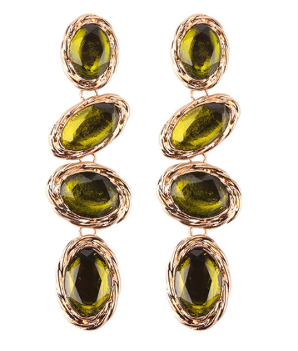 Emersyn Green Drop Earring