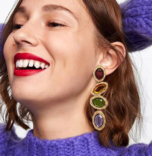 Emersyn Multicolor Drop Earring