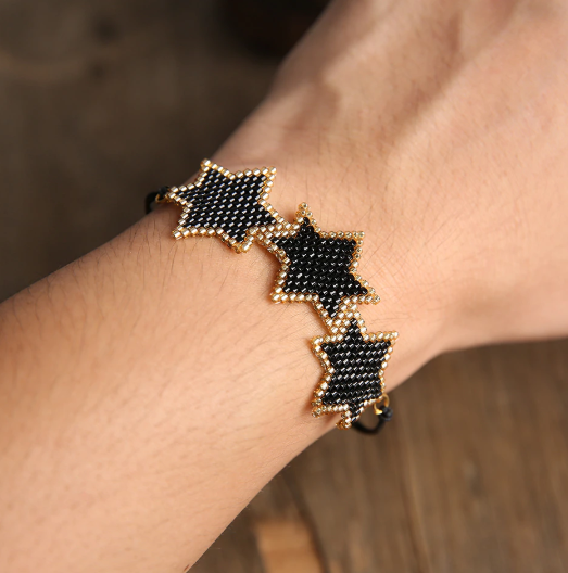 Hailee Beaded Star Bracelet