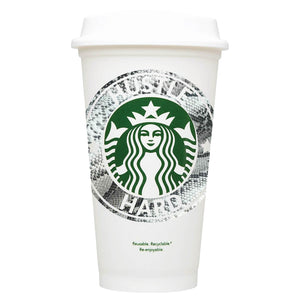 Hustle Hard Starbucks Hot Cup