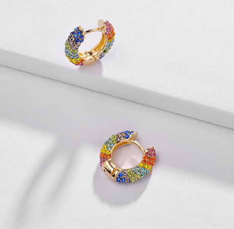 Kira Multicolor Statement Earring