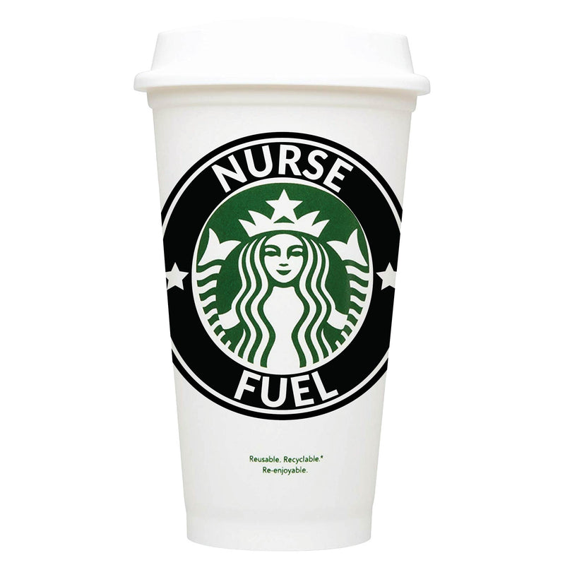 Nurse Fuel Starbucks Hot Cup