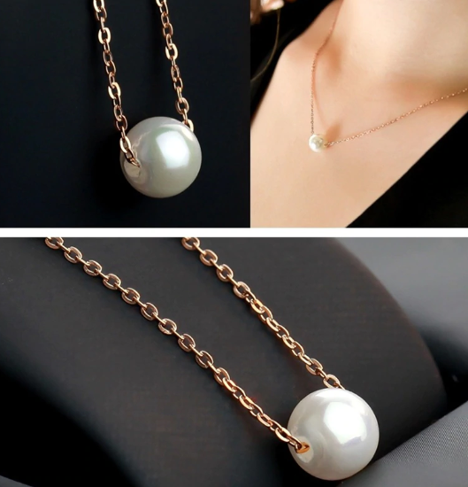 Savina Pearl Necklace