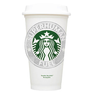 Superhuman Fuel Starbucks Hot Cup