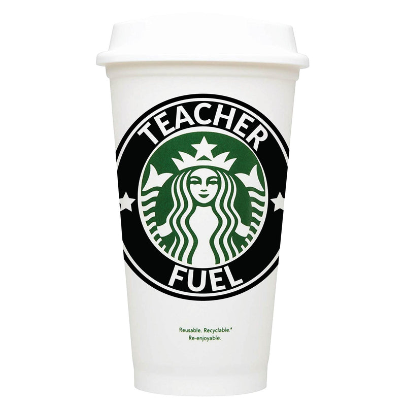 Teacher fuel Starbucks Hot Cup