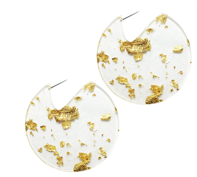 Thea Flake Statement Earring