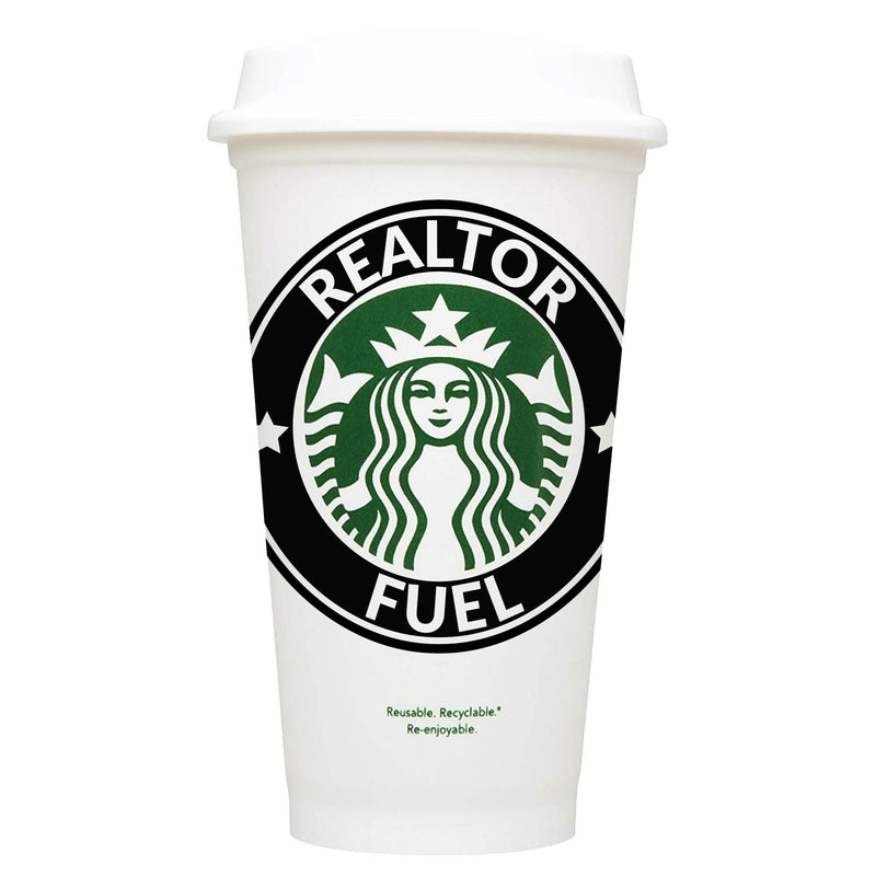 Realtor Fuel Starbucks Hot Cup