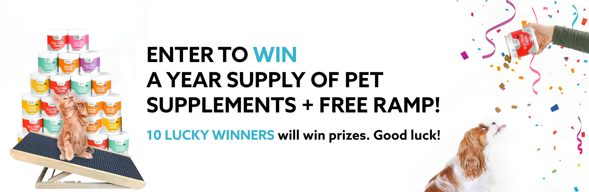 Treat Your Pets Giveaway