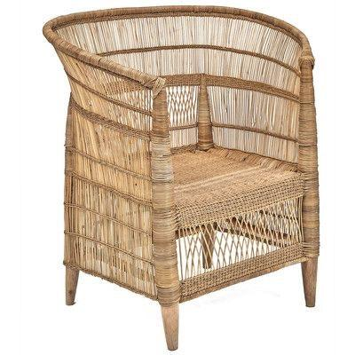 Traditional Malawian Cane Chair