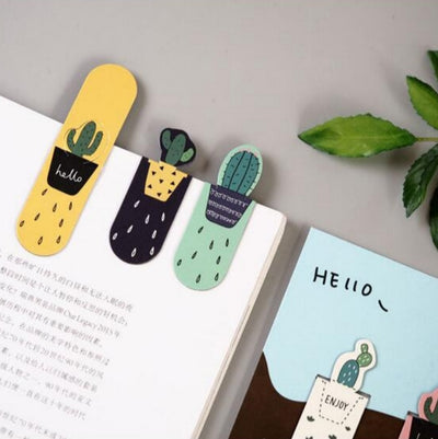 Magnetic Cactus Bookmarks - ThepotplantCo