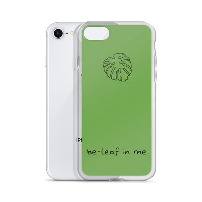 Be-leaf in me iPhone Case - ThepotplantCo
