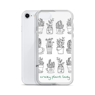 Crazy Plant Lady iPhone Case - ThepotplantCo