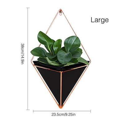 Triangular Wall Mounted Pots - ThepotplantCo