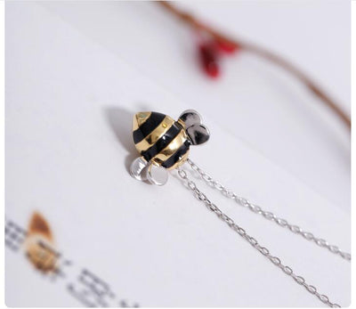 Silver Bee Exquisite Necklace - ThepotplantCo