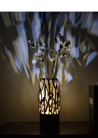 Drift Wood Lamp Display Vase
