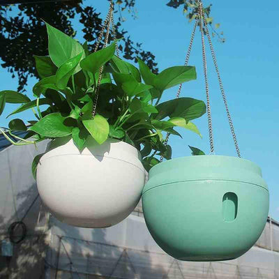 Self Watering Hanging Basket Pot