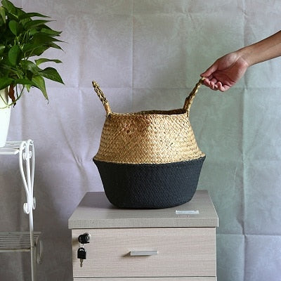 Foldable Wicker Baskets - ThepotplantCo