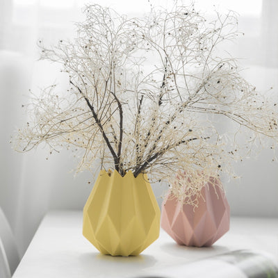 Origami Flower & Planter Ceramic vase