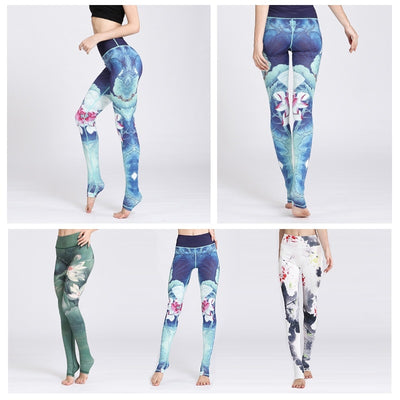Lotus Yoga Pants - ThepotplantCo